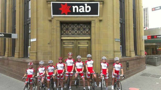 Team Bike Ride Tasmania using social media to thank one of their sponsors.