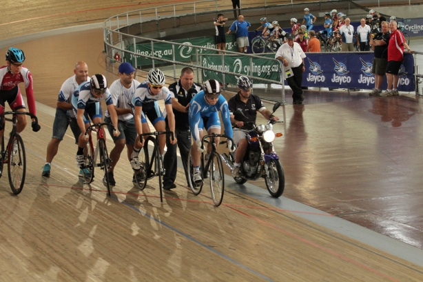 The keirin, an exhibition event last year, made its debut as a medal event at these Championships.